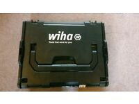 Wiha tool box and screwdriver set