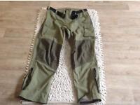 Fishing waterproof trousers