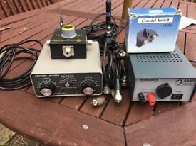 Job lot ham/cb radio gear