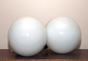 Retro LIght Balls for Kitchen circa early 1980's