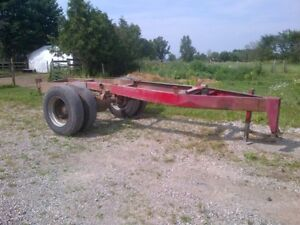 Farm trailer chassis for sale