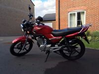Yamaha YBR125 Full service history very good condition