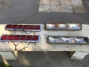 1968 Mustang Shelby Tail Lights