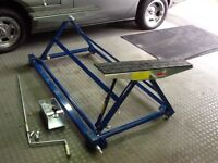 Mobile/home car lifting device