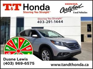 2013 Honda CR-V EX *No Accidents, Sunroof, USB/Bluetooth*
