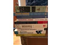 Books for sale law, business and marketing