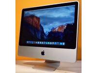 Apple iMac 4gb RAM 320gb HDD Nvidia geforce 9400 os x yosemite laptop