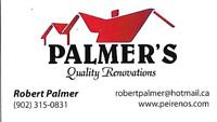PALMER'S QUALITY PAINTERS