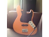 Modified Squire Jazz bass
