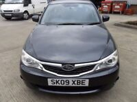 2009 SUBARU IMPREZA 1.5 R PETROL MANUAL 5 DOOR GREY
