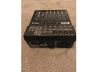Alto tmx80 dfx 2x350 watt powered mixer and speakers 2x750