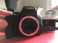 Canon EOS 750D DSLR BRAND NEW,NEVER USED (Body only) + Canon bag