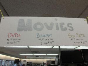 **DREAMS COME TRUE** assorted shelf of movies