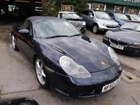 Porsche Boxster S 3.2 2003 CONVERTABLE 73000MLS FULL MOT FULL LEATHER