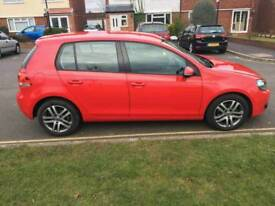 Volkswagen golf red colour excellent condition