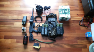 Paintball X7 Tippmann etrigger and gear