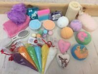Bath bombs etc at affordable prices low post upto 2kg for £2.79 that's around 8 bath bombs in weight