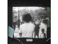 2x J cole '4 your Eyez Only' concert standing tickets