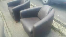 Lovely tub egg chair, armchair, vintage look