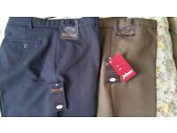"""New 2 pairs """"Jolliman"""" Expand-A-Band trousers"""