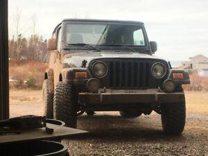 2004 Jeep TJ rear end