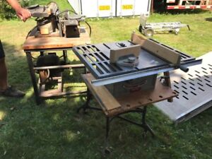 Table Saw, Joiner Planer
