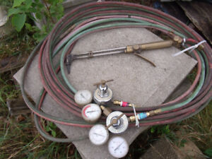 Oxy-Acetylene Torch and Hose Set
