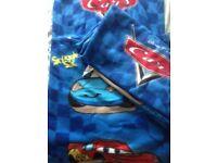 2 x Disney Cars snuggle sacs, hardly used £5 each