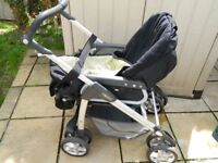 Silver Cross Pushchair w/ accessories