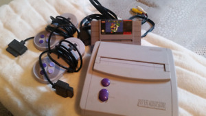 Original Super Nintendo  $100