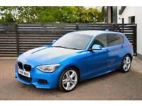 BMW 120D M SPORT ESTORIL BLUE 5DR XENONS FBMWSH PDC TOP SPEC