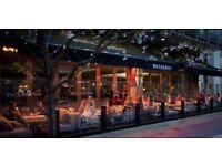 chef de partie italian restaurant £8.00 per hour plus service charge