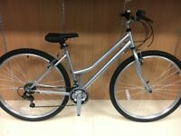"Ladies 700c Hybrid Bike - 17"" Frame"