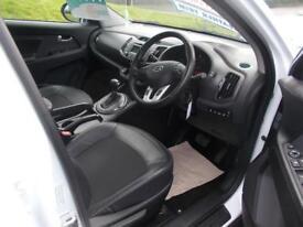 KIA SPORTAGE 2.0 CRDI KX-2 5d AUTO 134 BHP (white) 2012