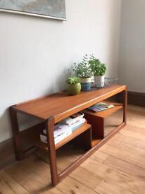 Mid Century Retro McIntosh Coffee Table TV stand