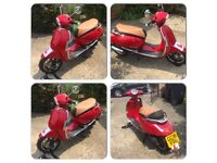 LEX MOTO VIENNA 50CC TWIST & GO 380MILES ONLY IDEAL FIRST BIKE