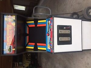Old gun smoke arcade game