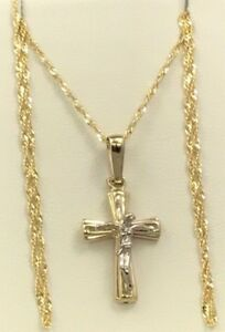 Chains with cross 10KT