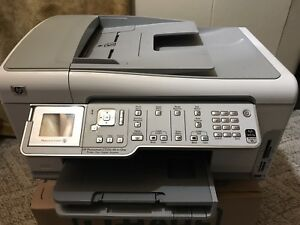 HP Photosmart C7250 All-in-One Printer Copier Fax