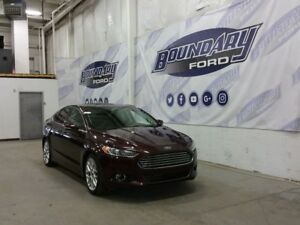 2013 Ford Fusion Titanium W/ Sunroof, Heated Leather, Remote Srt