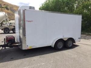 ATTENTION !! FRUIT/PRODUCE TRAILER 7 ft X 14 ft
