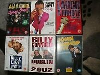 6 Original Stand up DvDs