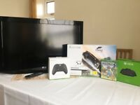 "XBOX One S Bundle + LG 32"" LCD HD TV"