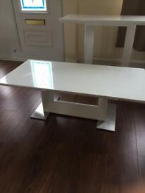 Harvey's Nova coffee table, console table and side table