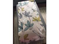 Floral Eyelet Curtains 46x90