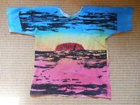 Hand painted Australian Shirt