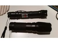 Professional High Power Green Laser Pointer 0.2W 532nm 8000M and Torch