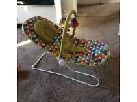 REDUCED!!! Mamas and Papas buzz bouncing cradle