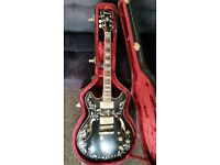 Rare Ibanez Artcore AS93PV Guitar (with Hardcase).