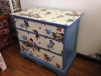 Paw patrol chest of drawers